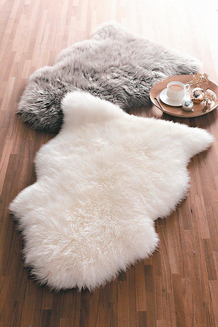 經典單張羊毛皮。 圖/HOLA提供