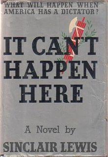 美國作家路易斯1935年出版的政治小說,在川普當選後暴紅。 取自網路