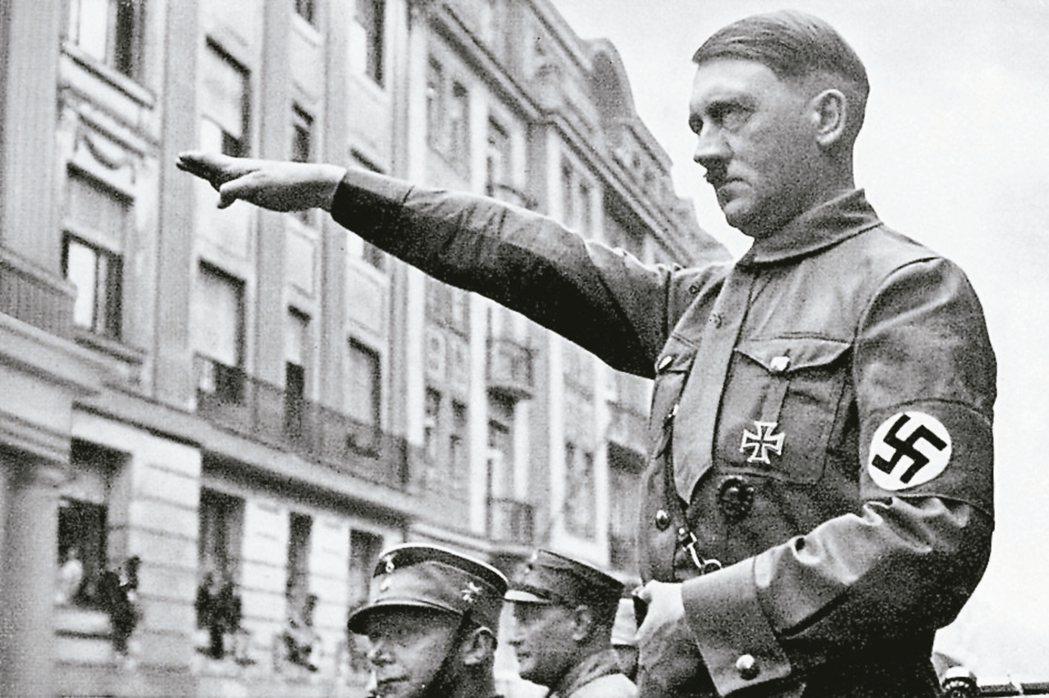 納粹德國獨裁者希特勒。 報系資料庫