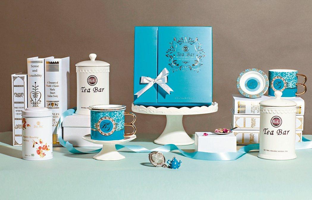 B&G德國農莊12周年限定禮盒和凡爾賽三件式套杯,4,580元,全台限量1000...