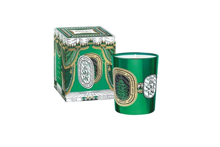 diptyque歡慶冷杉限量蠟燭,190g、2,700元。 圖/diptyque...