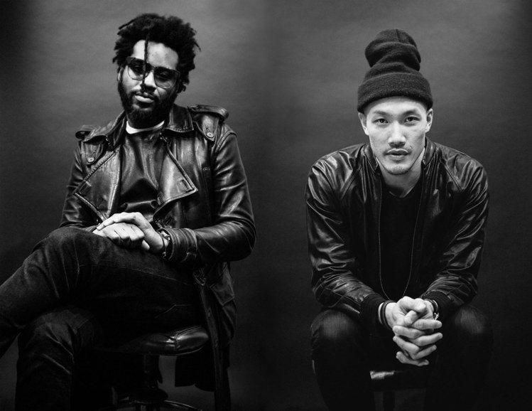 雙人設計師周道一(右)和馬克斯韋爾•奧斯本宣布辭去DKNY聯合創意總監。圖/取自...