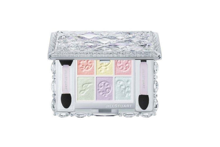 JILL STUART繽紛糖磚眼彩盤(甜點主義),售價1,600元,共有限定3色...