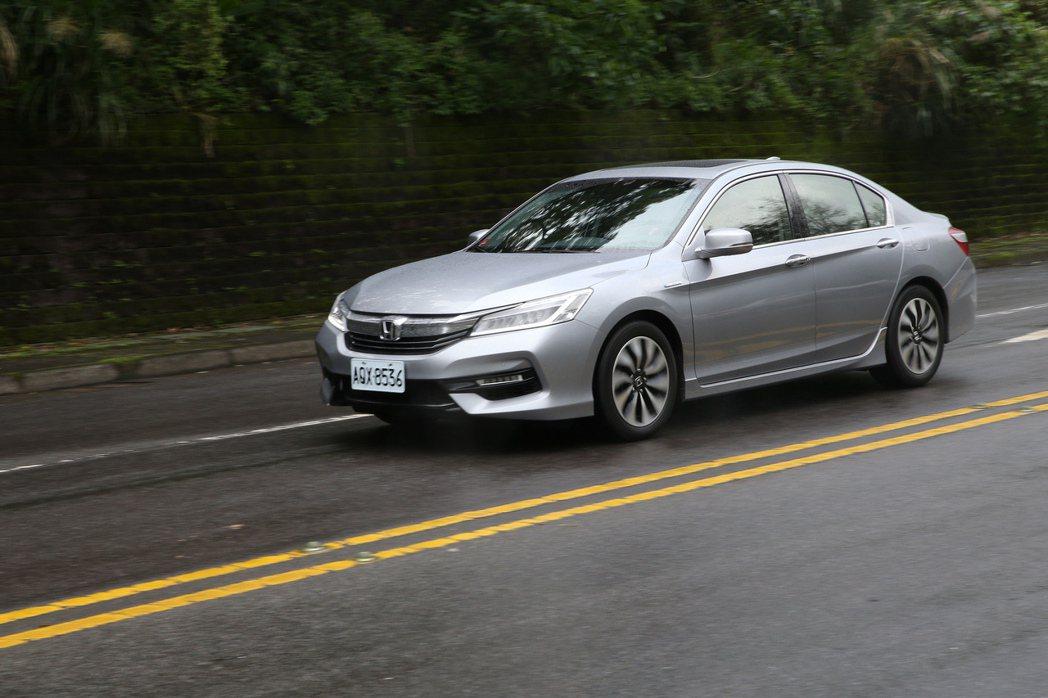 Honda Accord Hybrid。記者蘇健忠/攝影