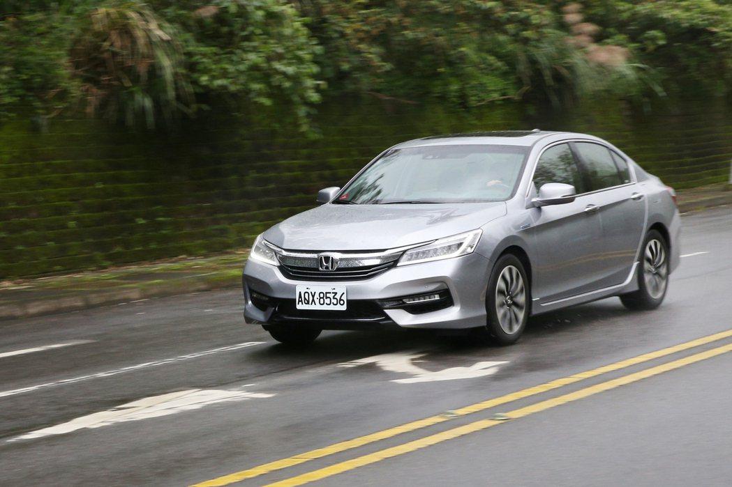 最早於台灣市場搭載 Honda Sensing 的車款為九代 Accord Hybrid> 記者蘇健忠/攝影
