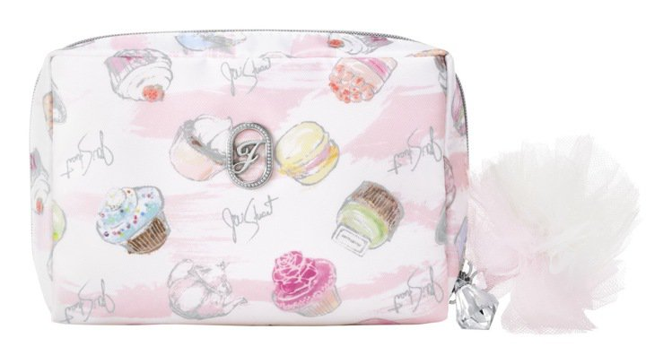 JILL STUART「甜點主義」限定版化妝包,僅在SOGO台北忠孝店獨賣。圖/...