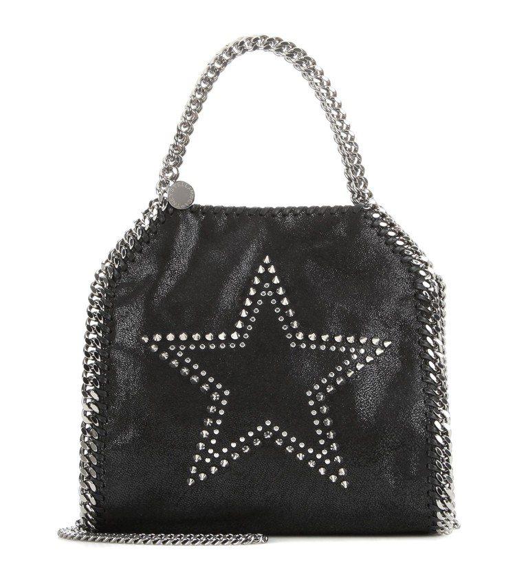 Stella McCartney鉚釘星星造型Falabella,售價33,580...