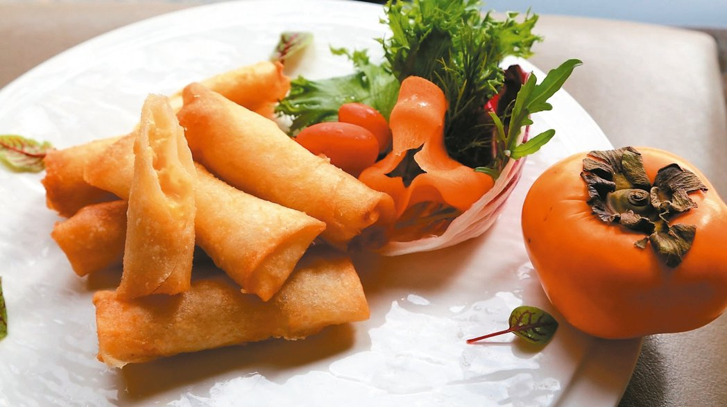 酥炸紅柿乳酪條
