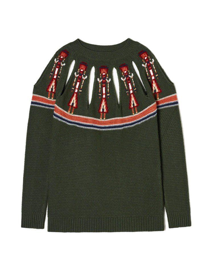 Benetton設計師聯名系列毛衣,5,680元。圖/Benetton提供
