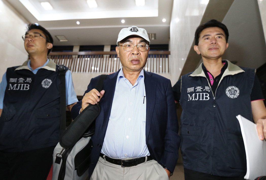 兆豐金前董事長蔡友才(中)。 圖/聯合報系資料照