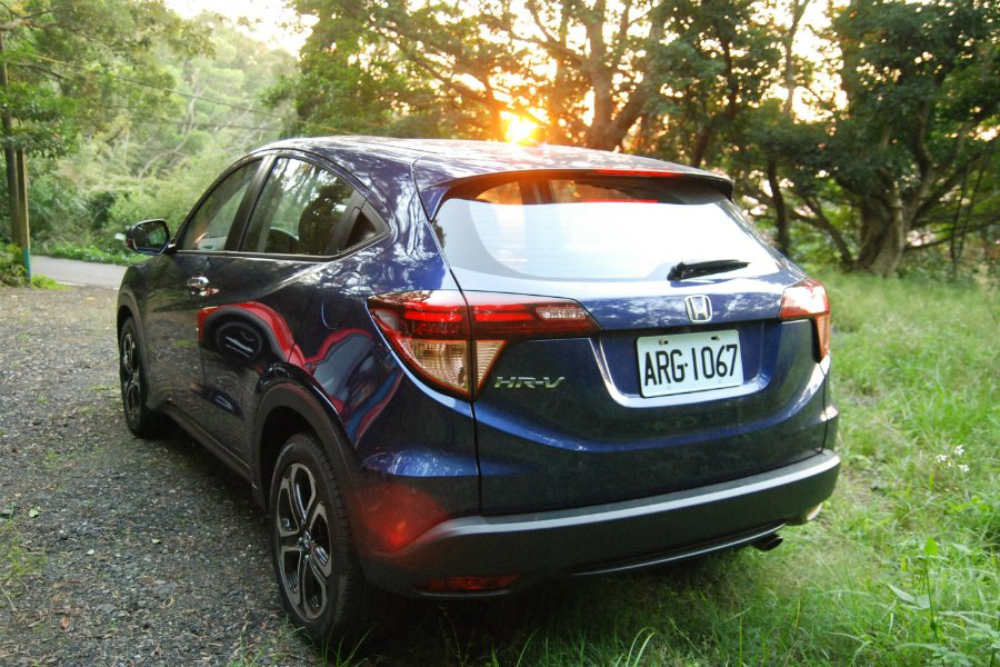 Honda HR-V 在空間表現上具有優勢。 記者林鼎智/攝影