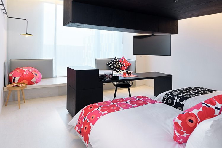 Mix Mari Room風格客房。圖/Marimekko提供