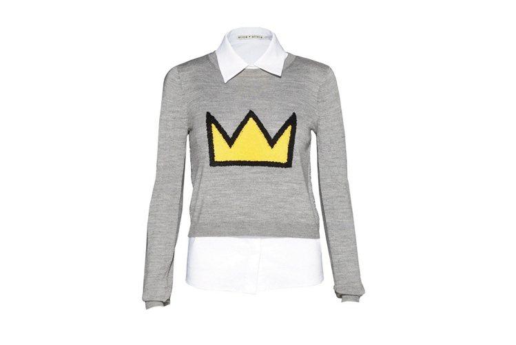 ALICE + OLIVIA X BASQUIAT 聯名系列兩件式襯衫上衣,17...