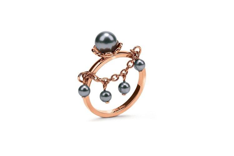 Grace Flair系列戒指,1,590元。圖/Folli Follie提供