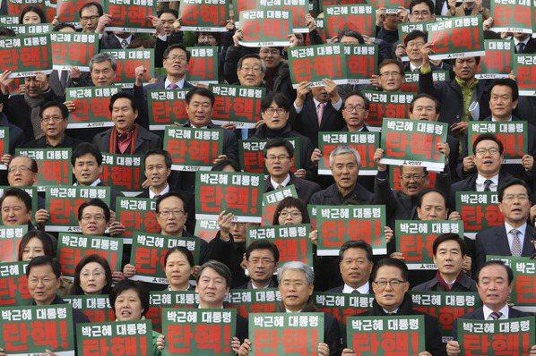朴槿惠 同意明年4月下台