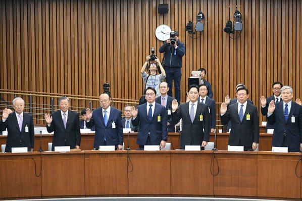韓閨密門聽證會 GS董座:政府提出要求 很難說不