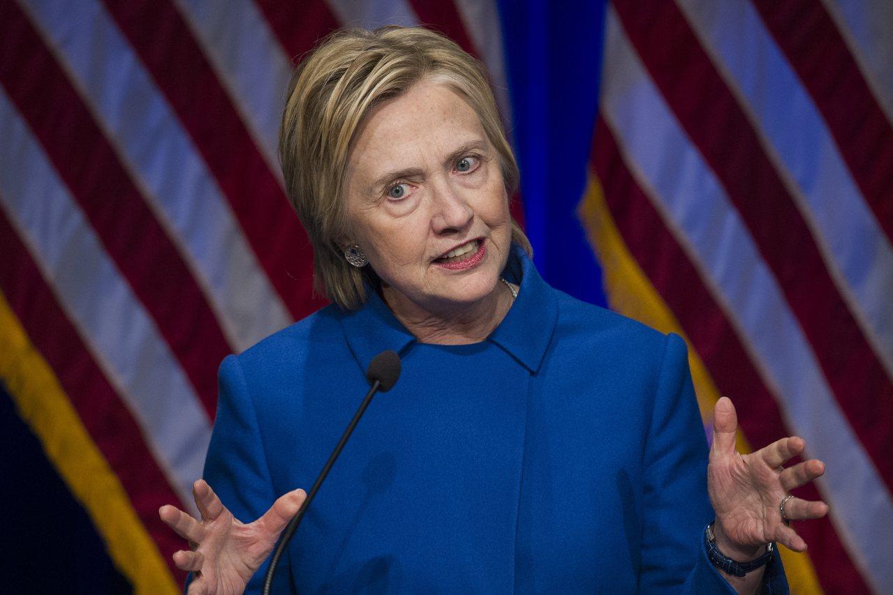 希拉蕊.柯?顿(Hillary Clinton)。图/美联社