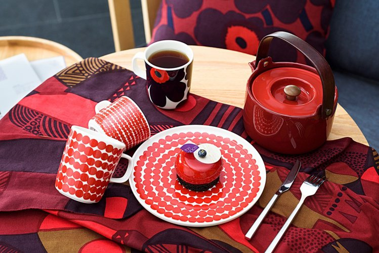 台南老爺行旅x Marimekko的Kkoko Mousse Tea Time回...