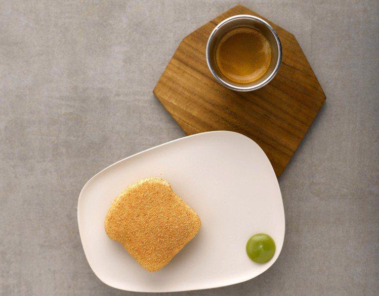 靈感來自新加坡經典小吃伽椰吐司。圖/RAW提供