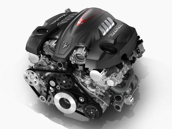 Quattroporte GTS 的 3.8升 V8 biturbo 雙渦輪引擎...