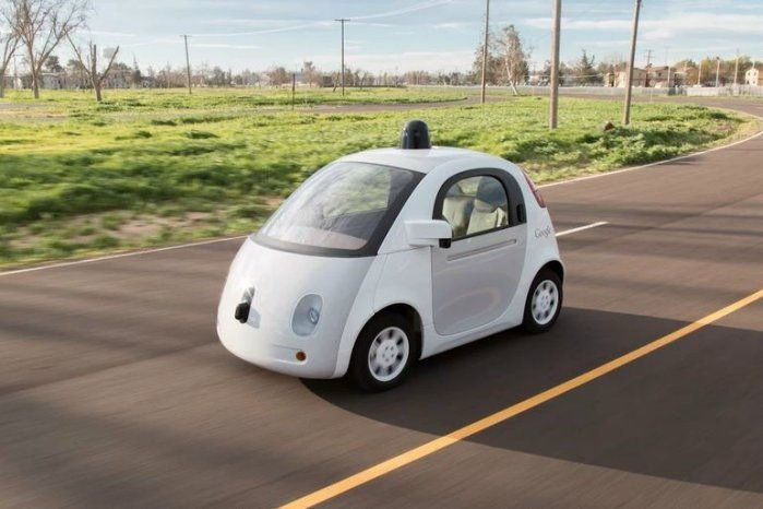 Google也投入自動駕駛領域的測試多年。 摘自Google