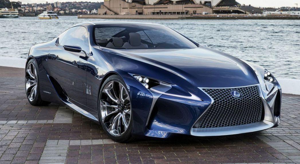 Lexus LF-LC概念車。 圖/Lexus提供