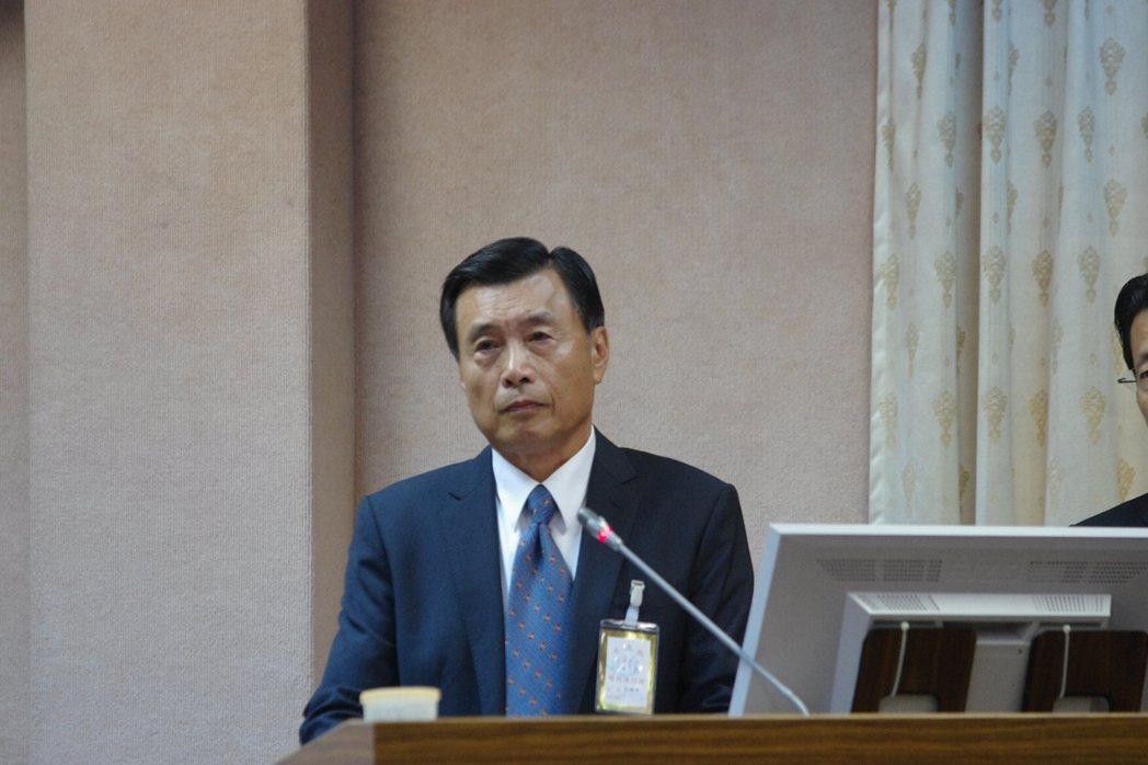 國安局長彭勝竹。本報資料照