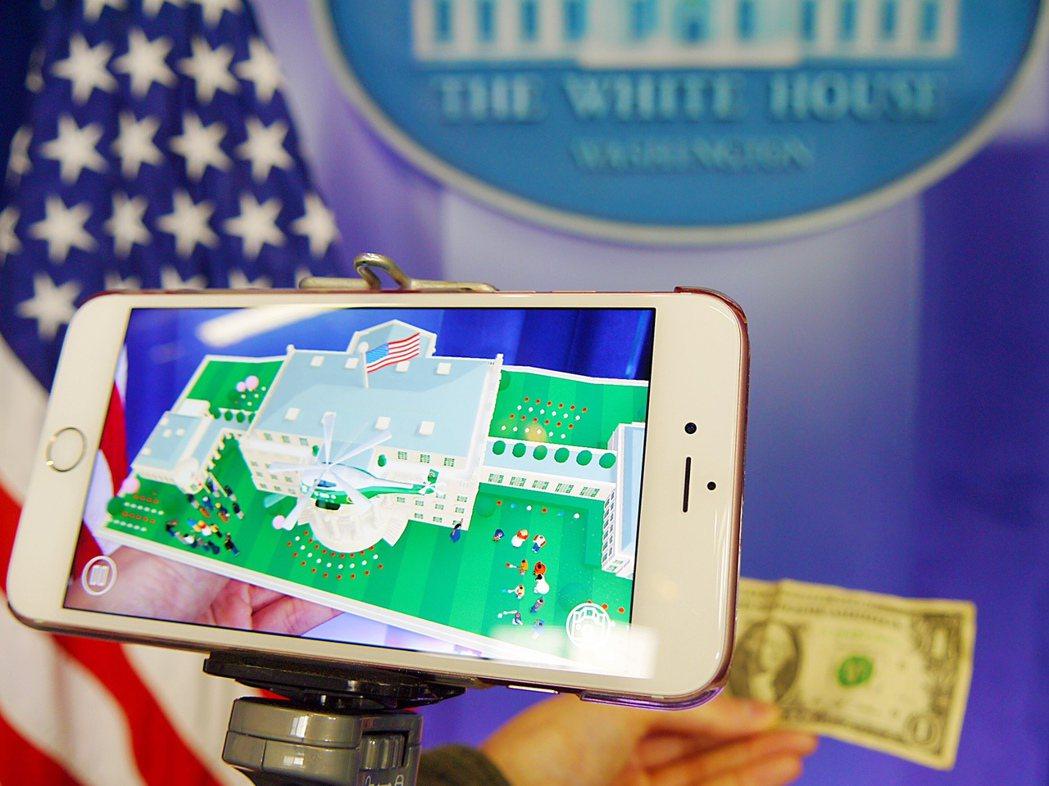 歐巴馬政府12月推出一款手機應用程式,民眾只要準備一支智慧型手機及一張美金1元紙...