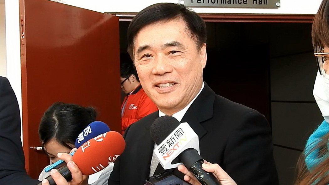 國民黨副主席郝龍斌。記者祁容玉/攝影