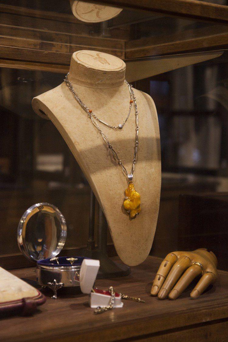 19至20世紀間的珠寶設計有溫潤雋永的質感。圖/JAMEI CHEN提供