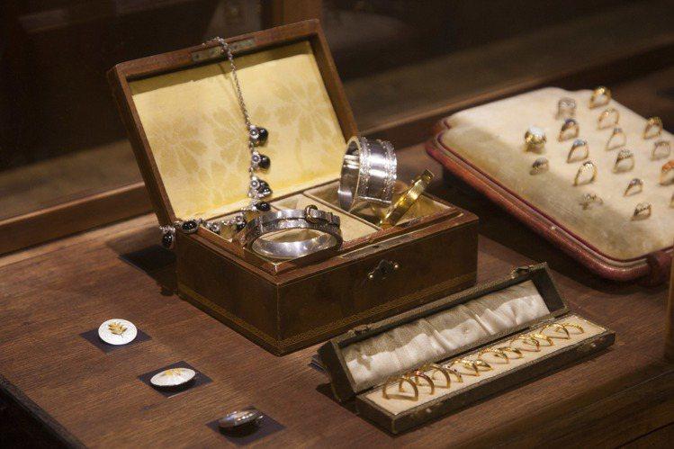 歐藝旅集展覽包括骨董珠寶項目。圖/JAMEI CHEN提供