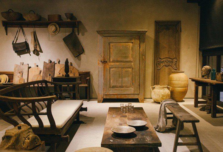 透過生活物件傳達歷史與文化的軌跡。圖/JAMEI CHEN提供