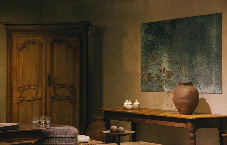歐藝旅集讓空間的色澤如畫作般沉靜安穩。圖/JAMEI CHEN提供