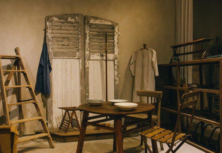 歐藝旅集之中的展題包括老物件。圖/JAMEI CHEN提供