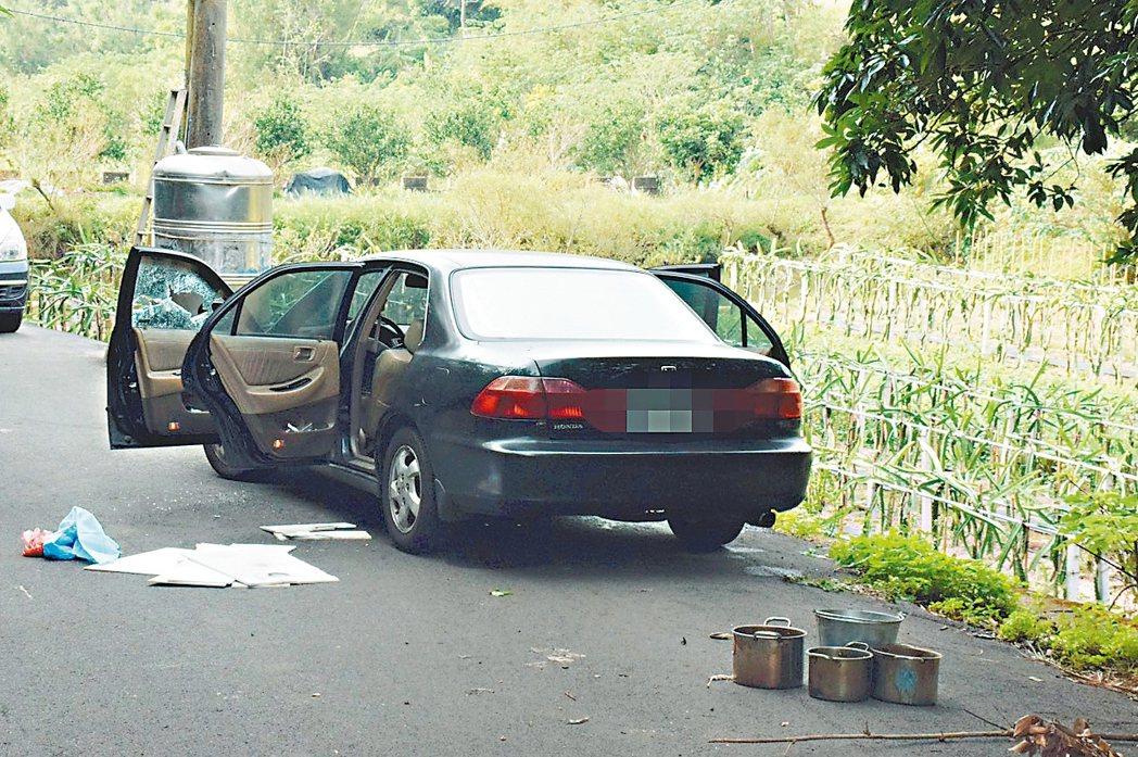 夫妻疑似賭博積欠大筆債務,選擇在車內燒炭輕生。 圖/聯合報系資料照片
