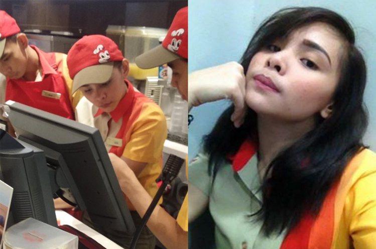菲律賓女孩Edcel Ched。圖/擷自twitter