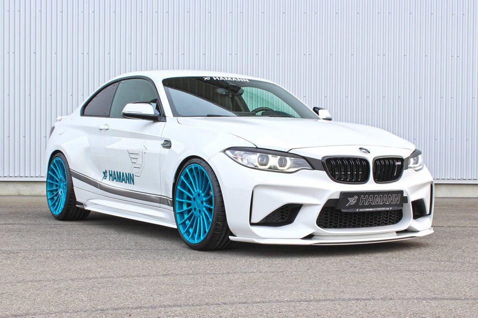 德國知名改裝廠 Hamann 於日前推出 BMW M2 改裝升級套件。 摘自 H...