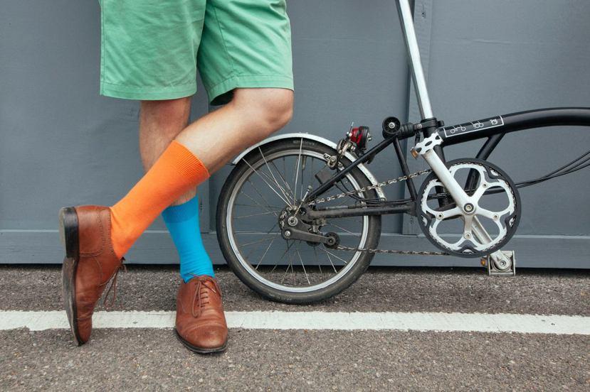 被台灣車友暱稱為「小布」的布朗普頓自行車,是小折界的夢幻逸品。 圖/Brompt...