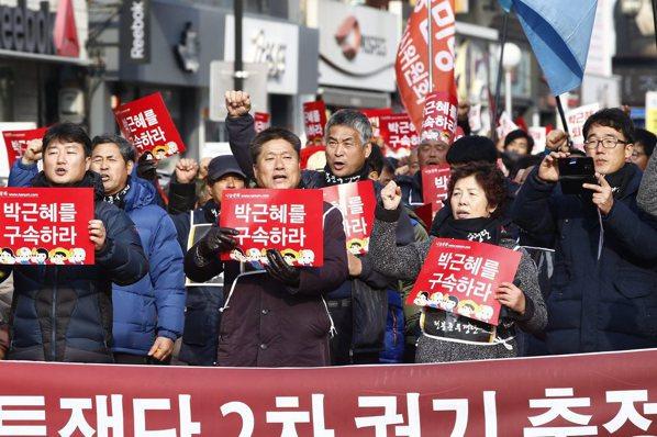 南韓國會正式提案 9日彈劾朴槿惠