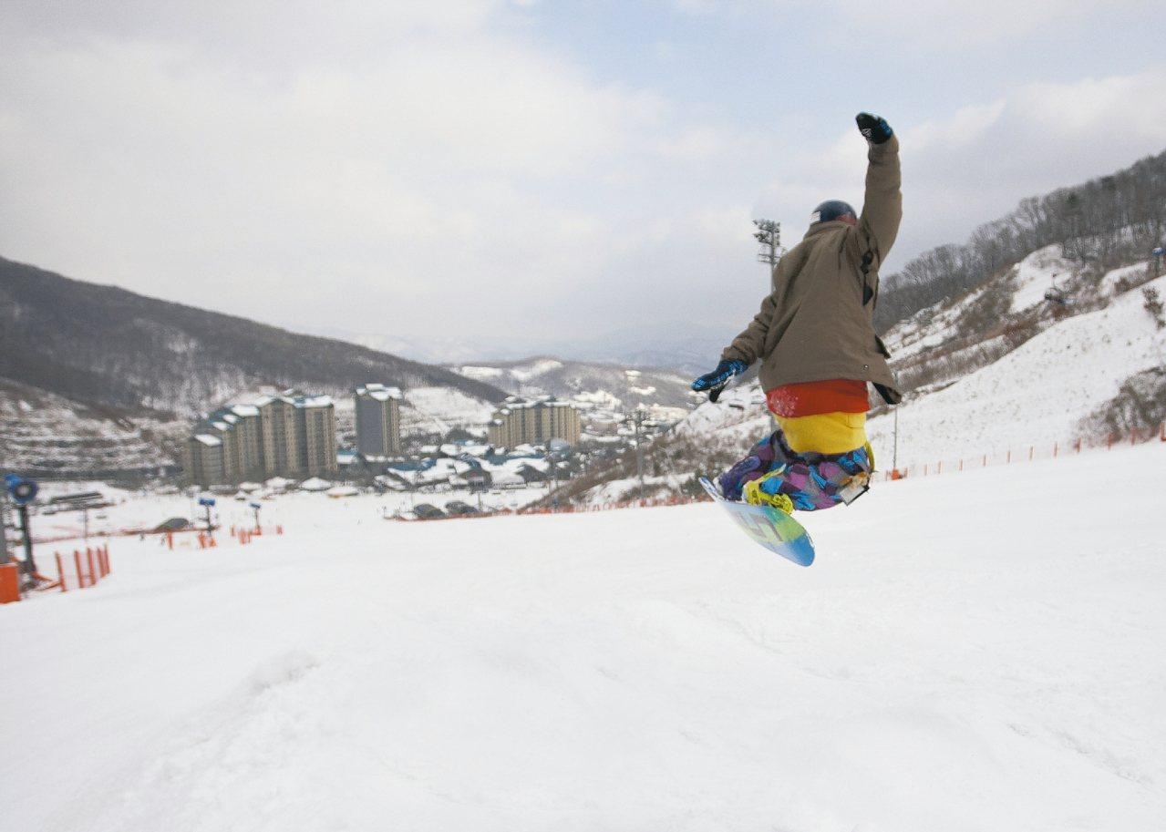 不論入門或專業滑雪課程,都有中文教練,有心進階並不難。 圖/雄獅旅遊提供