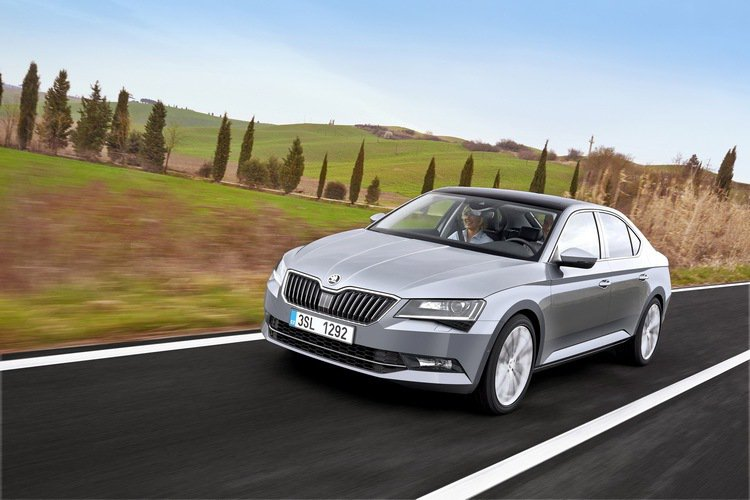 圖為ŠKODA Superb。 摘自ŠKODA