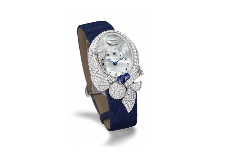 寶璣Volants Reine de Naple高級珠寶表,412萬9,000元...