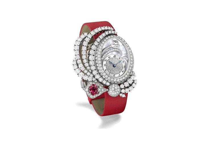 寶璣Marie-Antoinette Dentelle高級珠寶表,644萬元。圖...