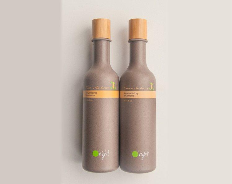 歐萊德進軍北歐,最受歡迎的商品就是這款瓶中樹。圖/O'right提供