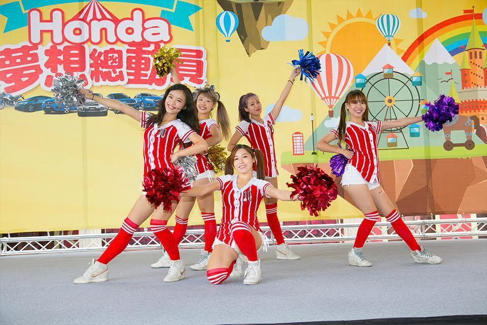 熱舞表演。 Honda提供