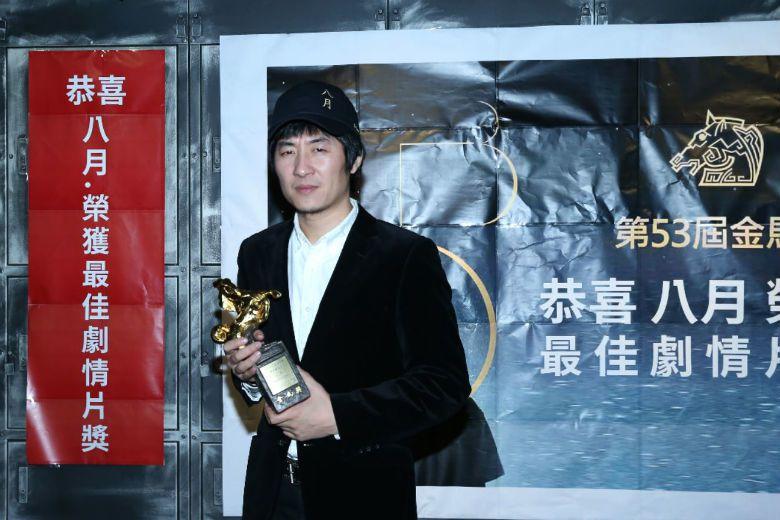 電影《八月》是內蒙導演張大磊拍的中國片,電影靈感來自自己的年少回憶。 圖/聯合報系