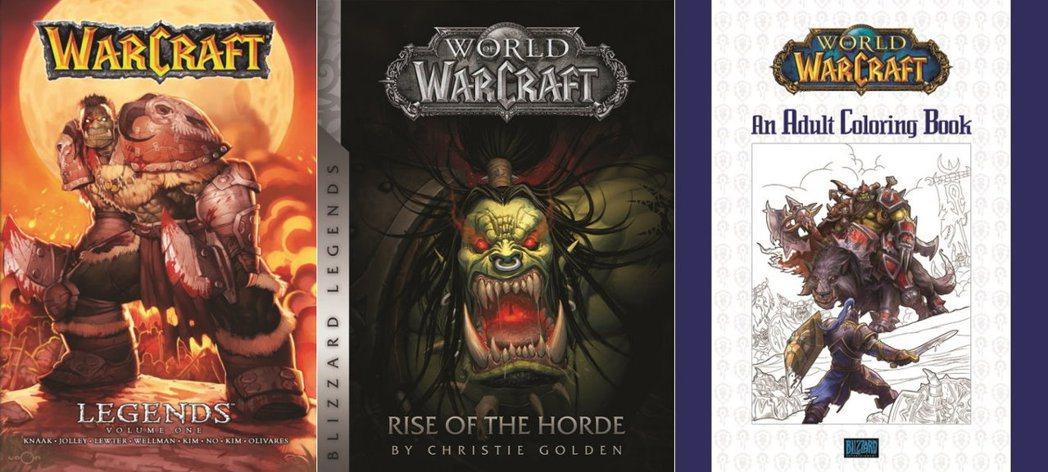 Blizzard Publishing的首波出版品包括《魔獸世界®》著色書及廣受...
