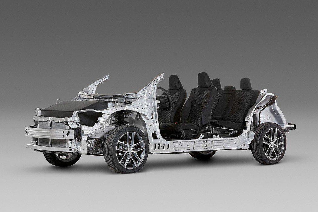 C-HR採用Toyota新世代TNGA底盤。 圖/Toyota提供