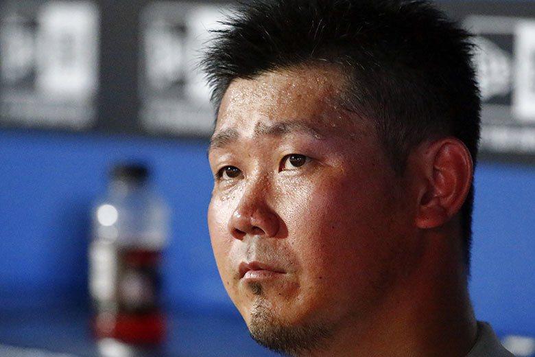 日本職棒中日隊發表,明年1月下旬將舉行投手松坂大輔的入團測驗。 歐新社資料照片