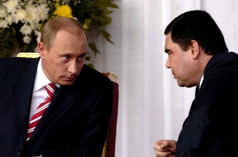 俄羅斯自烏克蘭事件後遭西方抵制,又逢國際油價下挫,國力嚴重受損,在與土庫曼斯坦國...